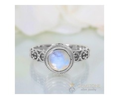 Moonstone Ring Delicate Opinion-GSJ