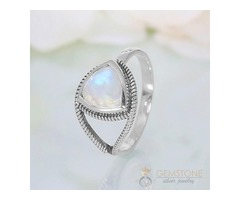 Moonstone Ring Curious Alexendra-GSJ