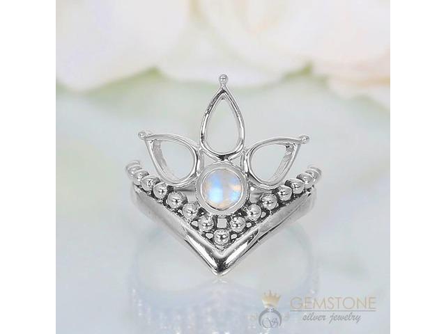 Moonstone Ring Bella's Swan-GSJ | free-classifieds-usa.com