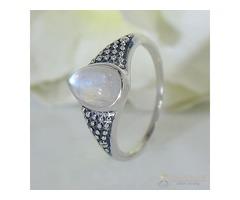 Moonstone Ring Startling Auriga-GSJ