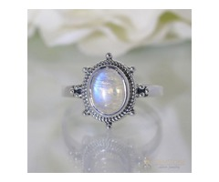 Moonstone Ring Mellow Warmth-GSJ