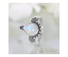 Moonstone Ring Zesty Vision-GSJ