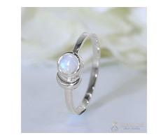 Moonstone Ring Trickling Elixir-GSJ