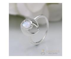 Moonstone Ring Lucid Future-GSJ