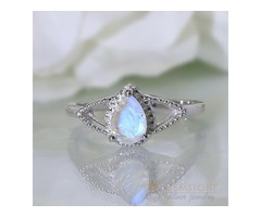 Moonstone Ring Noble Passion-GSJ