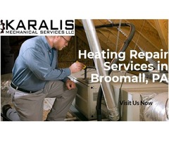 Professional Heating System Repair & Installation Service In Broomall, PA.
