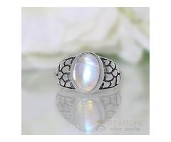 Moonstone Ring Lusting Light-GSJ