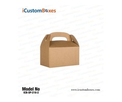 Get Custom Gable box auto bottom at Wholesale Price
