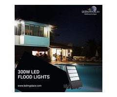 Purchase Now! 300W LED Flood Light at Lowest Price Limited Offer
