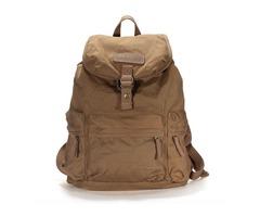 Canvas DSLR Camera Case Bag Backpack Travel Hiking Rucksack Khaki
