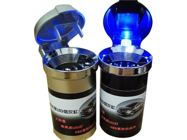 Car Ashtray Car Ashtray Car Metal Band High Brightness LED Lighting | free-classifieds-usa.com