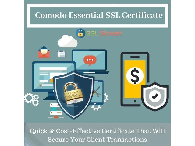 Affordable & Trusted No 1 Comodo Essential Digital SSL Certificate | free-classifieds-usa.com