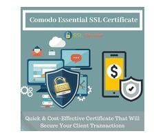 Affordable & Trusted No 1 Comodo Essential Digital SSL Certificate