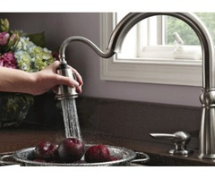 What are kitchen sink undermount and bathroom faucets?