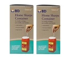 Bd home sharps container disposal