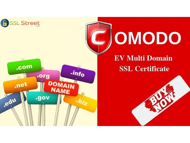 Get Highest Encryption & Secure Your Website With EV Multi Domain SSL  | free-classifieds-usa.com