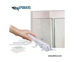 Glass Shower Door Seal - Frameless Shower Door | pFOkUS