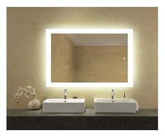 Market Has An Astonishing LED Bathroom Lighted Mirror -Hurry Now