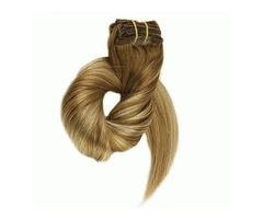 CLIP INS BALAYAGE HAIR EXTENSIONS HIGHLIGHT