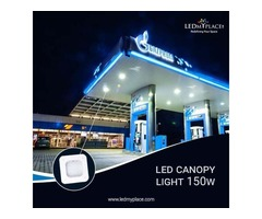 Make the Gas Stations look more Attractive By LED Canopy Lights