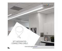 Get 3ft Integrated Connecting Cable For Better Lighting Results