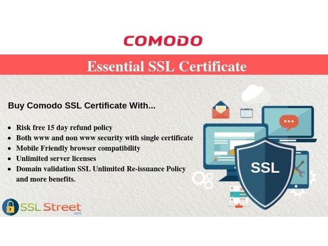 Buy Comodo Essential SSL Certificate & Secure Your Customer Transactions  | free-classifieds-usa.com