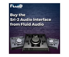 Buy the Sri-2 Audio Interface from Fluid Audio
