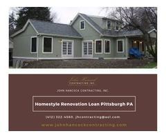 Homestyle Renovation Loan Pittsburgh PA