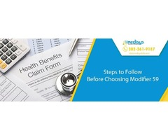 Steps to Follow Before Choosing Modifier 59