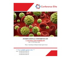 International Conference On Cancer And Oncotherapy 2019