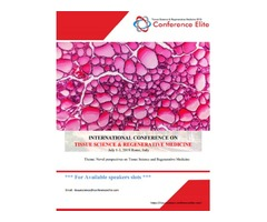 International Conference On Tissue Science And Regenerative Medicine 2019