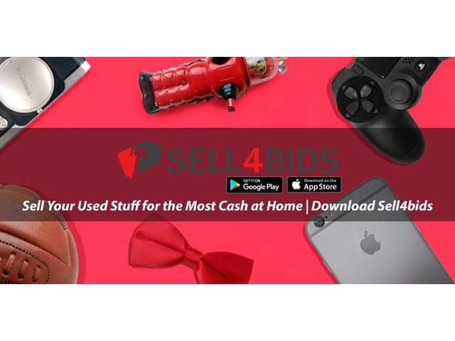 Sell Your Used Stuff for the Most Cash at Home | Download Sell4bids | free-classifieds-usa.com