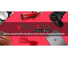 Sell Your Used Stuff for the Most Cash at Home | Download Sell4bids