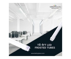 Install Energy-Savings T8 4ft LED Frosted Tubes for Your House