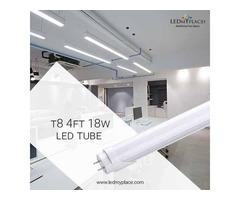 Buy Energy-Efficient T8 4ft LED Tube Light For Indoors