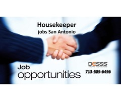 Housekeeper jobs San Antonio in usa