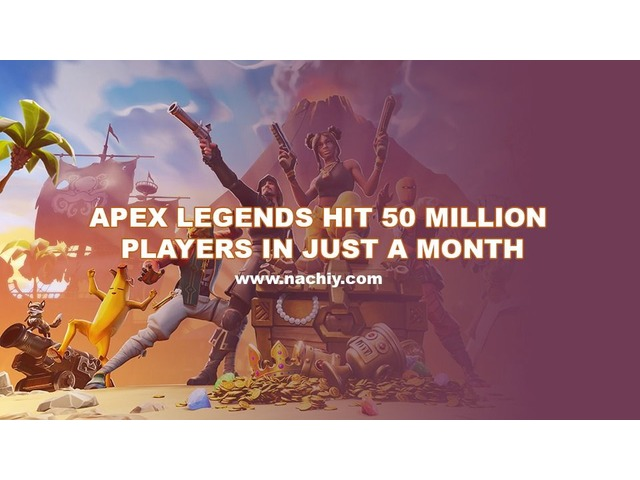 Apex Legends Hit 50 Million Players in Just a Month  | free-classifieds-usa.com