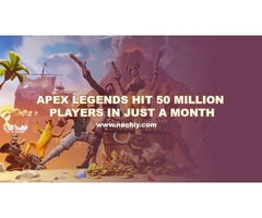 Apex Legends Hit 50 Million Players in Just a Month