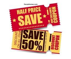 Get Free Discount and Voucher Codes On best deals