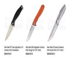 Novel Cutting Experience With The Best Quality Real Steel Knives