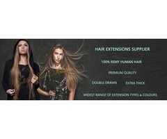 HAIR EXTENSIONS AND BEAUTY SUPPLIER