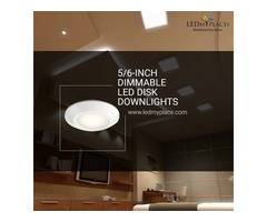 Use 5/6'' Dimmable LED Downlight To Make Home More Attractive
