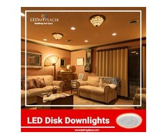 Buy LED Disk Downlights For Incredible Indoor Lighting