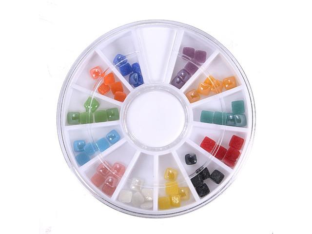 3D Gems Cone Stud Crystal Beads Stone Nail Art Decoration Wheel | free-classifieds-usa.com