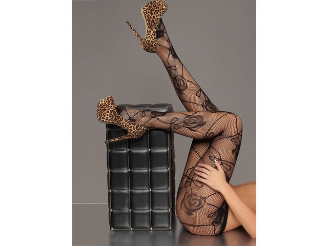Lovely Flower Pattern Stockings | free-classifieds-usa.com