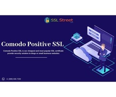 Comodo Positive SSL Certificate At $39.95 For 1 Year. Buy Now!
