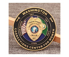 Challenge Coins,Department of Corrections Challenge Coins