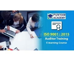 Online training course for ISO 9001 auditor