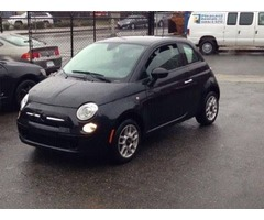 2013 FIAT 500 pop one owner low miles