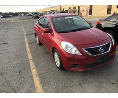 2012 NISSAN Versa $0 down $47.12 Weekly